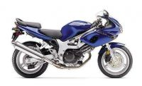 Suzuki SV 650S 2001 - Blaue Version - Dekorset