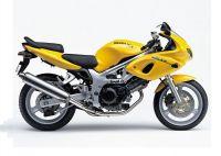 Suzuki SV 650S 2000 - Gelbe Version - Dekorset