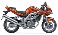 Suzuki SV 650S 2003 - Orange Version - Dekorset