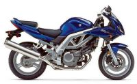 Suzuki SV 650S 2004 - Blaue Version - Dekorset