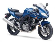 Suzuki SV 650S 2005 - Blaue Version - Dekorset