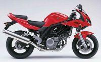 Suzuki SV 650S 2005 - Rote Version - Dekorset