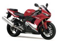 Yamaha YZF-R6 RJ095 2005 - Rote Version - Dekorset