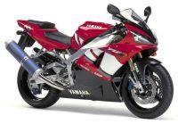 Yamaha YZF-R1 RN04 2001 - Rote Version - Dekorset
