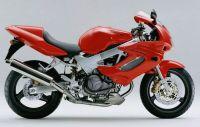 Honda VTR 1000F 1998 - Rote Version - Dekorset