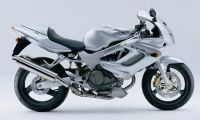Honda VTR 1000F 1999 - Silver Version - Decalset