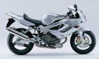 Honda VTR 1000F 1999 - Silber Version - Dekorset