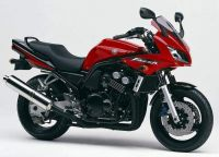Yamaha FZS600 Fazer 2003 - Rote Version - Dekorset