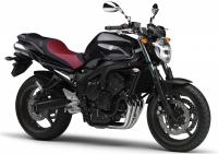 Yamaha FZ6 S2 2009 - Schwarze Version - Dekorset