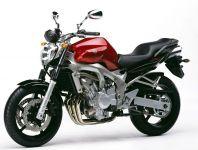 Yamaha FZ6 2005 - Rote Version - Dekorset