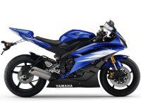 Yamaha YZF-R6 RJ11 2006 - Blaue EU Version - Dekorset