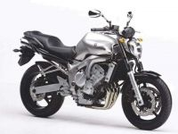 Yamaha FZ6 2005 - Silber Version - Dekorset