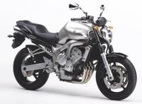 Yamaha FZ6 S2 2006 - Silber Version - Dekorset