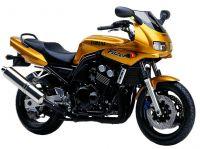 Yamaha FZS600 Fazer 1998 - Gold Version - Dekorset
