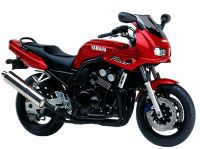 Yamaha FZS600 Fazer 1999 - Rote Version - Dekorset