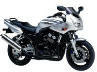 Yamaha FZS600 Fazer 1999 - Silber Version - Dekorset