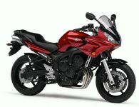 Yamaha FZ6 Fazer 2006 - Rote Version - Dekorset