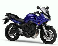 Yamaha FZ6 Fazer 2006 - Blaue Version - Dekorset