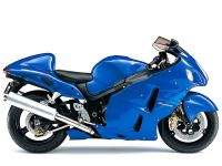 Suzuki Hayabusa 2007 - Blaue Version - Dekorset