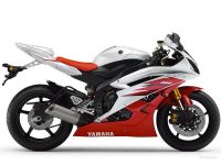 Yamaha YZF-R6 RJ11 2006 - White/Red Version - Decalset