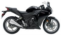 Honda CBR 250R 2012 - Schwarze Version - Dekorset