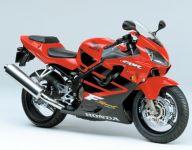 Honda CBR 600 F4 Sport 2001 - Rot/Schwarze Version - Dekorset