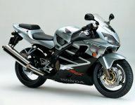 Honda CBR 600 F4 Sport 2001 - Silber/Schwarze Version - Dekorset