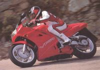 Honda VFR 750 1991 - Rote Version - Dekorset