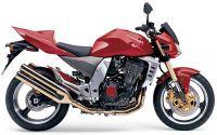 Kawasaki Z1000 2004 - Rote Version - Dekorset