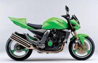 Kawasaki Z1000 2003 - Grüne Version - Dekorset