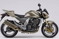Kawasaki Z1000 2004 - Braune Version - Dekorset