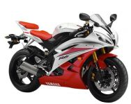 Yamaha YZF-R6 RJ11 2007 - White/Red Version - Decalset