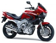Yamaha TDM 850 4TX 1999 - Rot/Schwarze Version - Dekorset