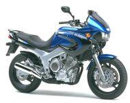 Yamaha TDM 850 4TX 2000 - Blau/Schwarze Version - Dekorset