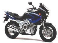 Yamaha TDM 850 4TX 2001 - Blau/Schwarze Version - Dekorset