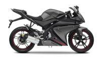 Yamaha YZF-R125 2012 - Schwarze Version - Dekorset