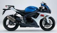 Suzuki GSX-R 750 L1 2011 - Weiß/Blaue Version - Dekorset