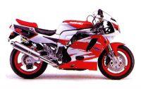 Suzuki GSX-R 750 1995 - Rot/Weiße Version - Dekorset
