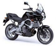Kawasaki Versys 650 2007 - Schwarze Version - Dekorset