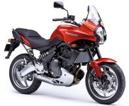 Kawasaki Versys 650 2007 - Rote Version - Dekorset