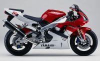 Yamaha YZF-R1 RN01 1999 - Rot/Weiß Version - Dekorset