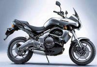 Kawasaki Versys 650 2007 - Silber Version - Dekorset