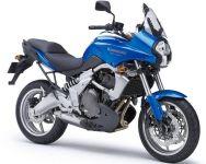 Kawasaki Versys 650 2008 - Blaue Version - Dekorset
