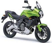 Kawasaki Versys 650 2008 - Grüne Version - Dekorset