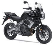 Kawasaki Versys 650 2010 - Schwarze Version - Dekorset