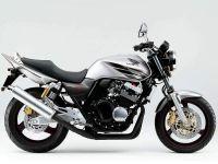 Honda CB 400 2005 - Silber Version - Dekorset