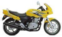 Honda CB 500S 1998 - Gelbe Version - Dekorset