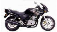 Honda CB 500S 1999 - Schwarze Version - Dekorset