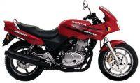 Honda CB 500S 1999 - Rote Version - Dekorset