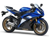 Yamaha YZF-R6 RJ15 2008 - Blaue Version - Dekorset